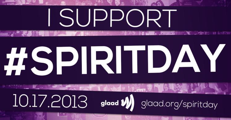 Tomorrow is Spirit Day